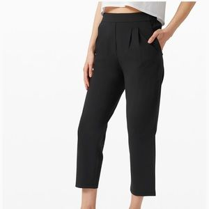 Your true trouser high rise crop - green size 4